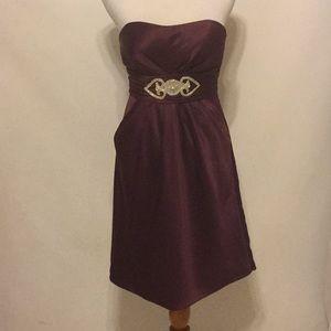 Stunning Bill Levkoff Strapless Cocktail Dress